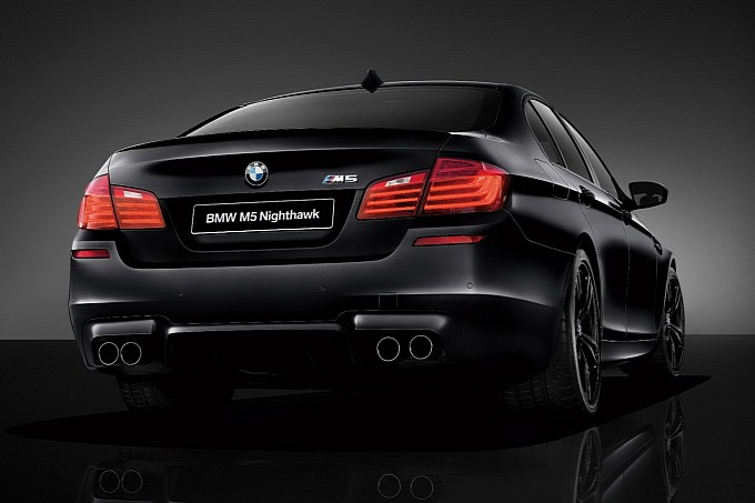 BMW M5 Nighthawk Back View