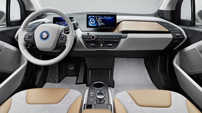BMW Unveils i3 Electric Car Interiors