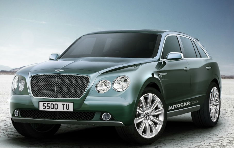 Bentley SUV EXP 9 F