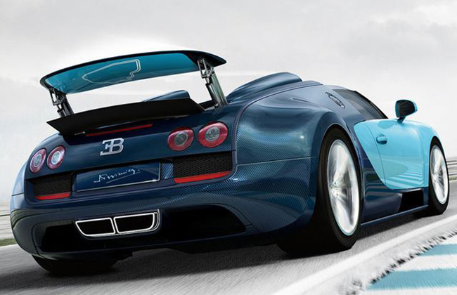 Bugatti Veyron Grand Sport Back