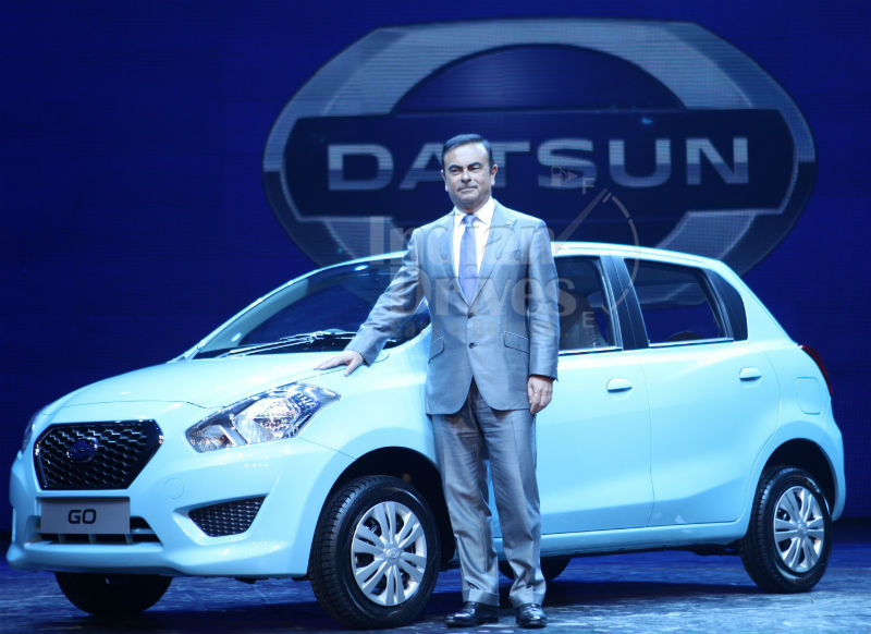 Datsun Unveils Go in India