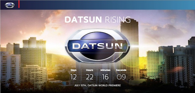 Datsun official website