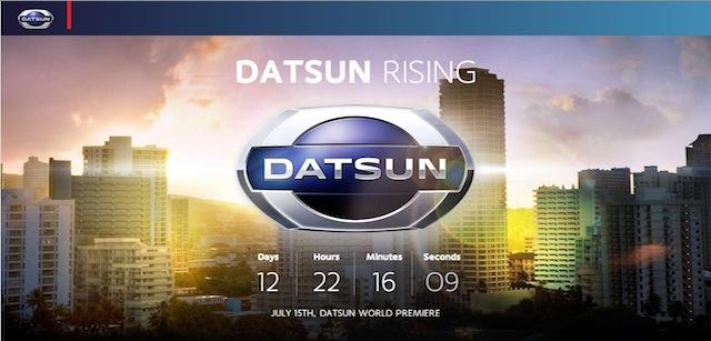 Datsun official website