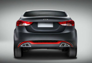 Dc Design Elantra Back View