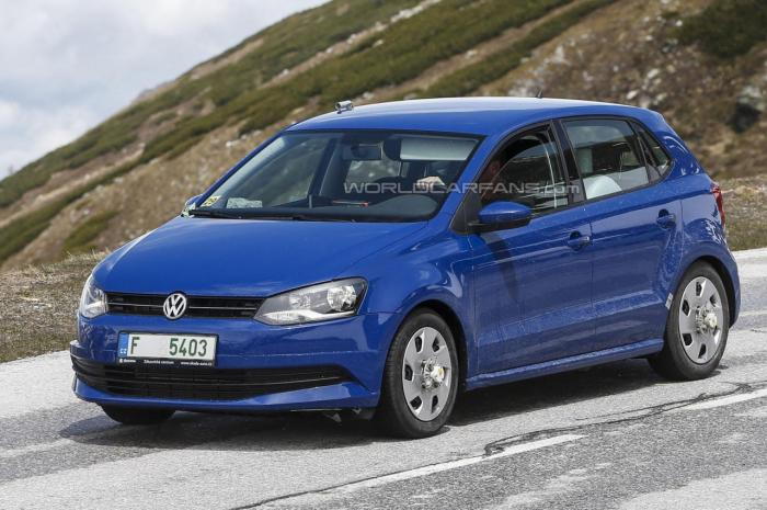 Facelifted 2014 Volkswagen Polo