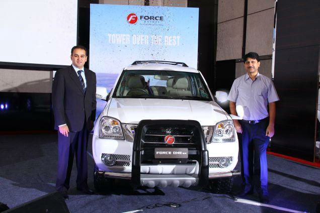 Force One SUV in India