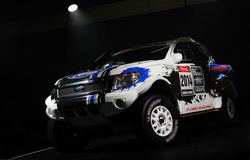Ford To Enter 2014 Dakar Rally With Mustang-Powered Range