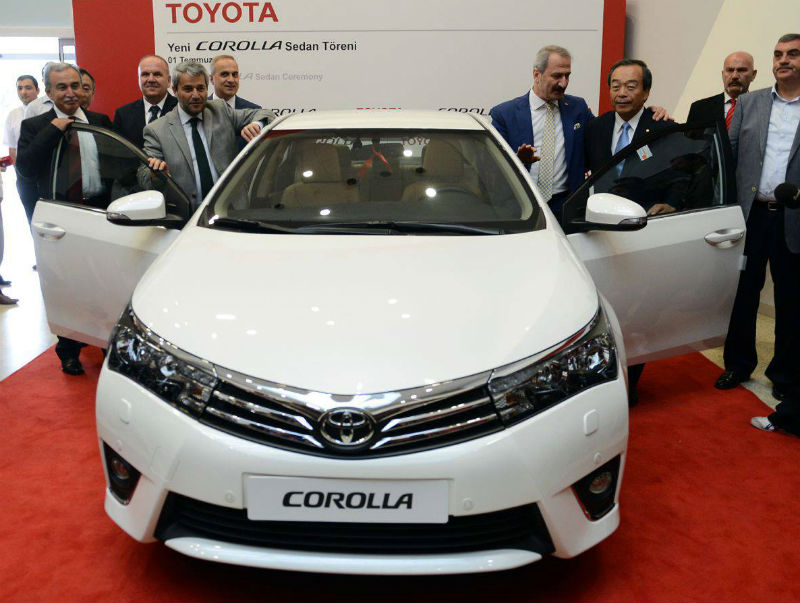 India bound 2014 Toyota Corolla enters production in Turkey
