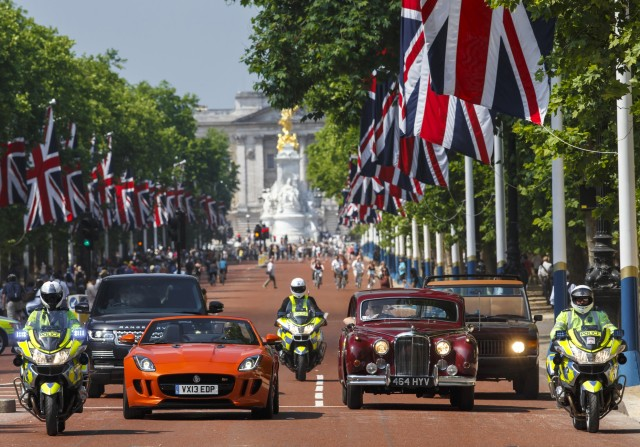 JLR to showcase star cars at British royal festival