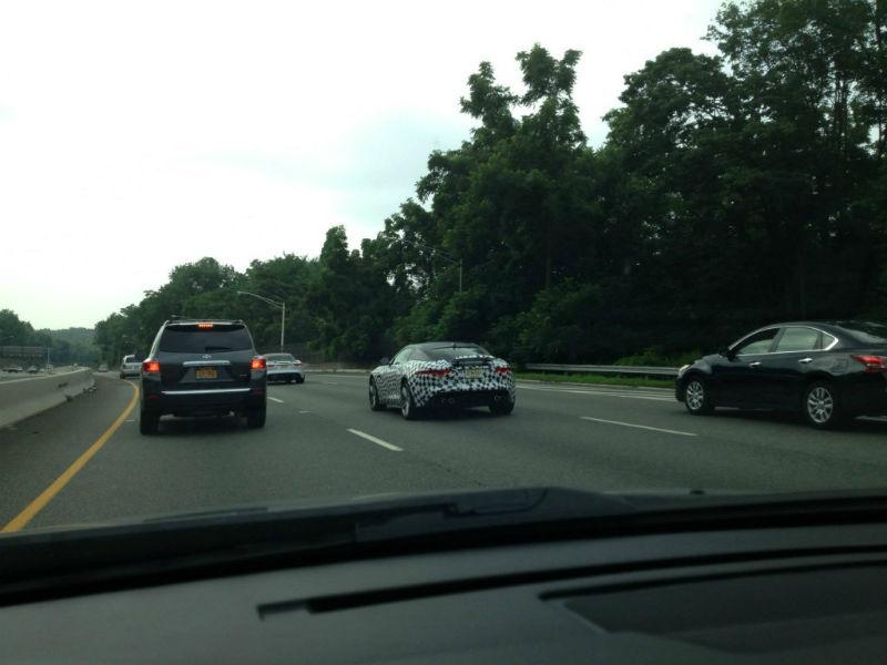 Jaguar F-Type Coupe Testing