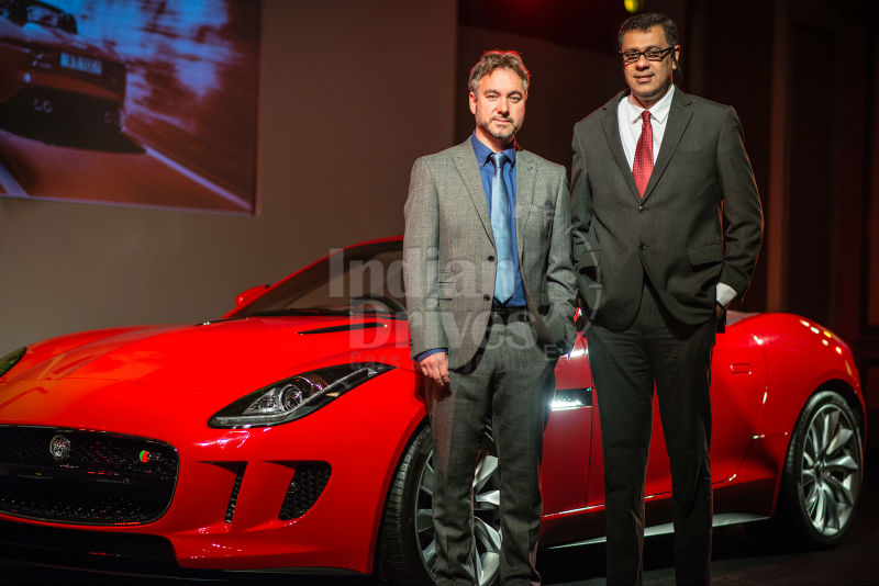 Jaguar Launches F-Type