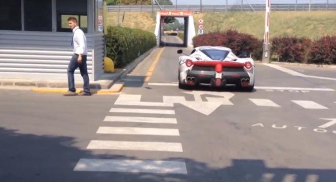 LaFerrari Caught Testing on the Fiorano Track