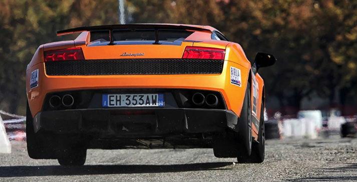 Lamborghini Jumping