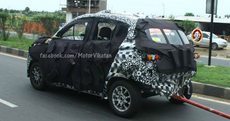 Mahindra Compact SUV S101 Back View