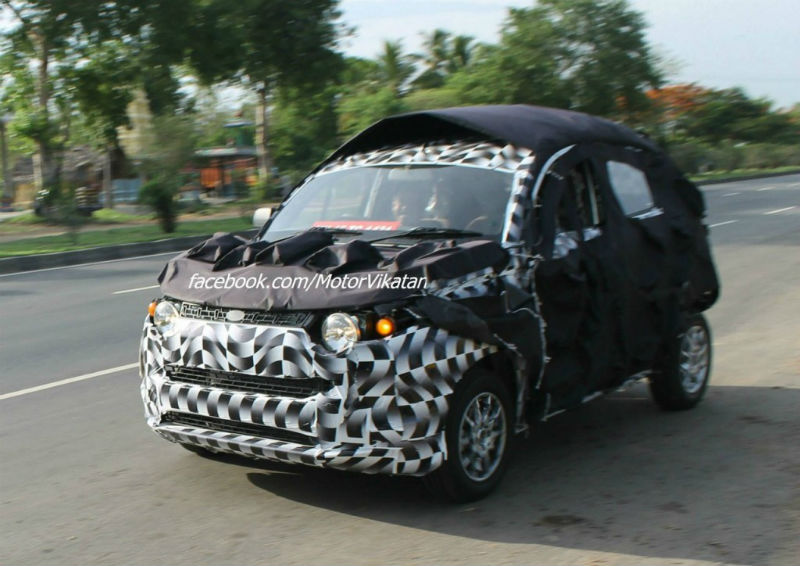 Mahindra S101 Compact SUV Front View