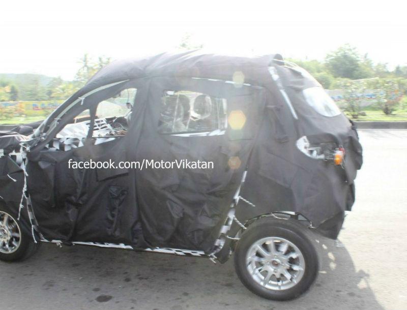 Mahindra S101 Compact SUV Interiors