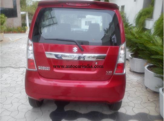 Maruti Wagon R Stingray Back View