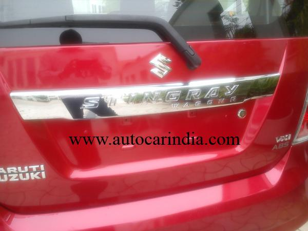 Maruti Wagon R Stingray Emerges with Clear Spy Shots