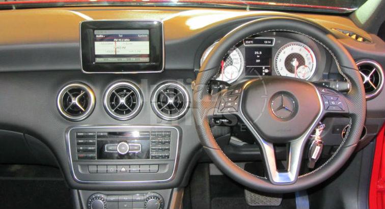 Mercedes Benz A Class Interiors
