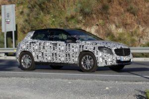 Mercedes-Benz GLA Spy Pics