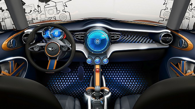 Mini Vision Concept Previews Interiors