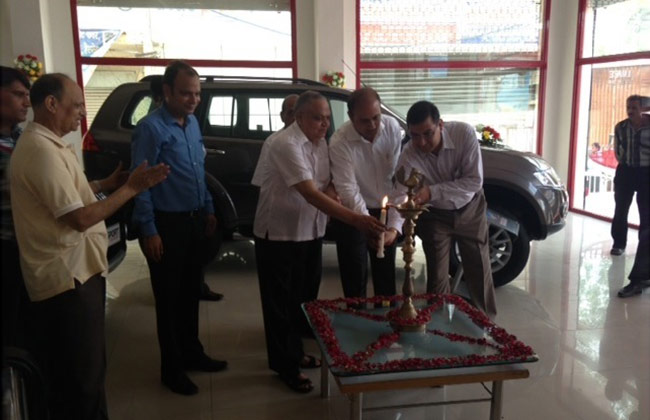 Mitsubishi dealership launched in Hisar by Hindustan motors