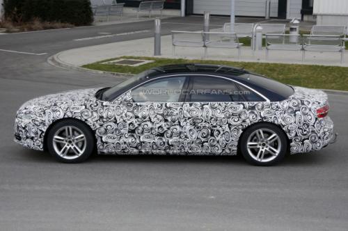 New Audi A8 facelift