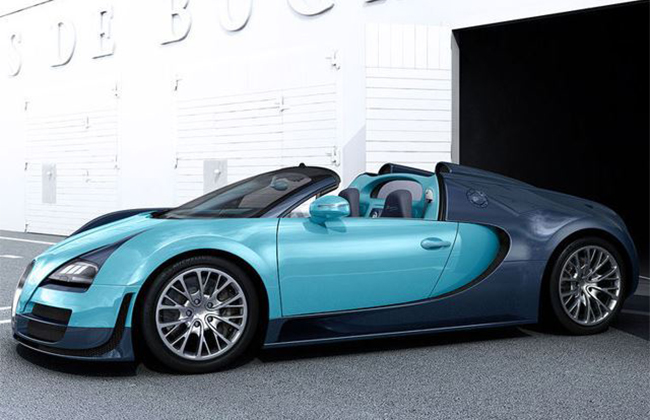 New Bugatti Veyron Grand Sport