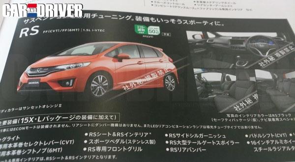 New Generation Honda Jazz aka Fit Spied