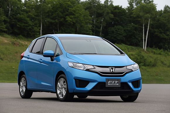 New Honda Jazz Hybrid