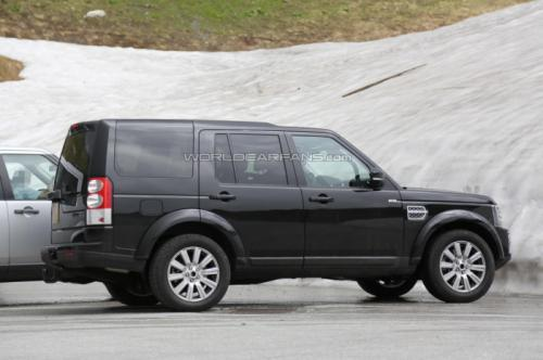 New Land Rover Discovery facelift