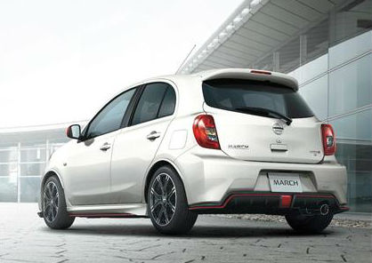 Nissan Micra Nismo Back View