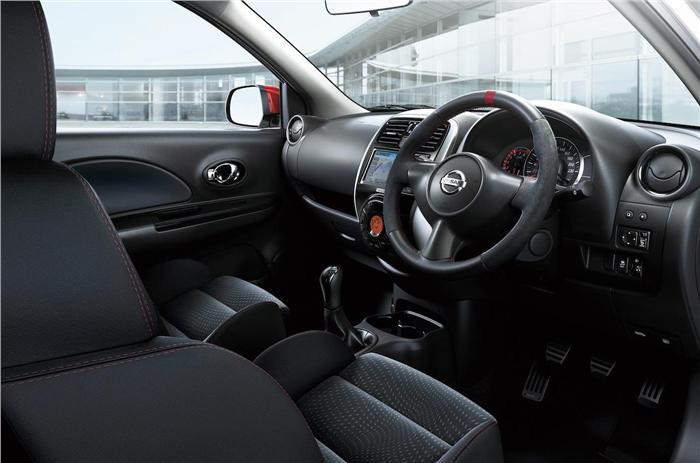 Nissan Micra Nismo interiors