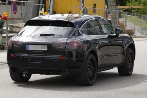 Official Porsche Compact SUV Back View