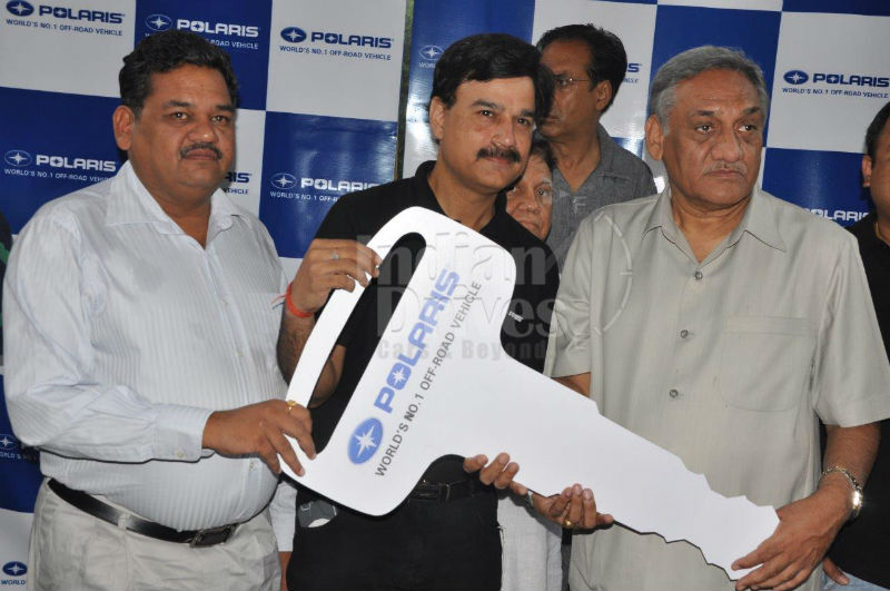 Polaris India Donates Five Vehicles