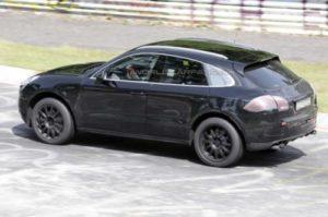 Porsche Macan Testing