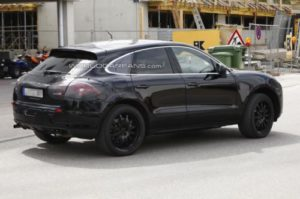 Porsche Macan Testing Photos