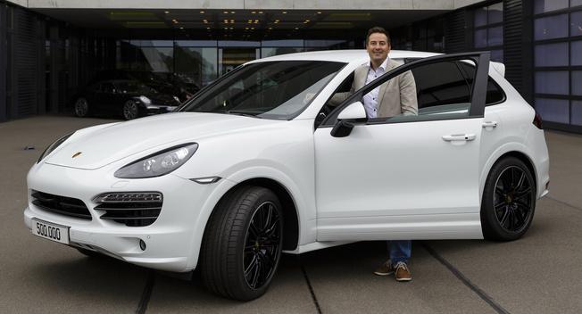 Porsche builds 500,000th Cayenne