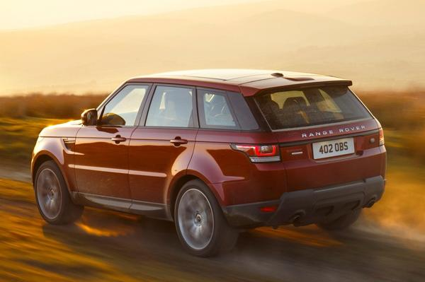 Range Rover RS models Back View