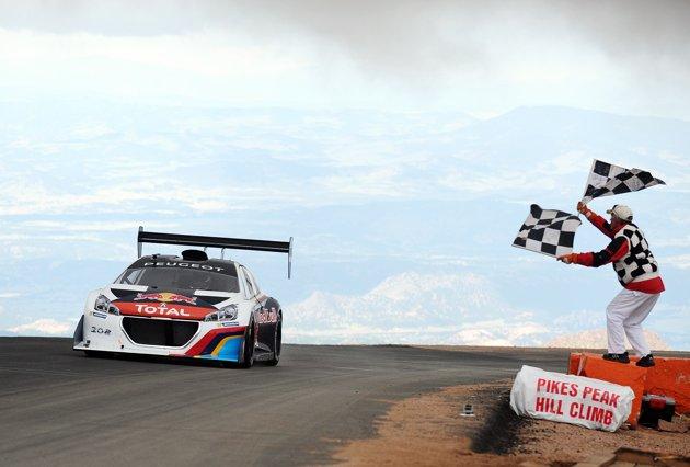 Sebastien Loeb demolishes Pikes Peak record