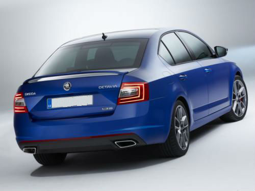 Skoda Octavia vRS Back View