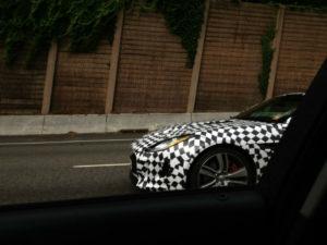 Spy Shots Jaguar F-Type Coupe