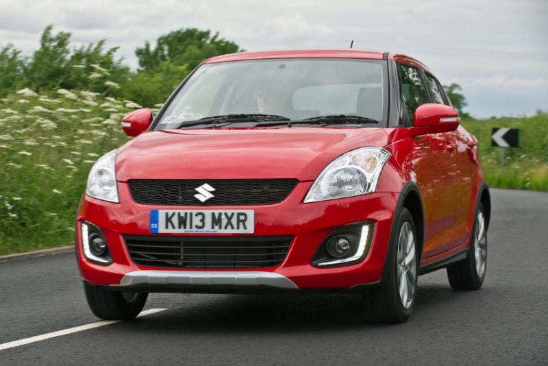 Suzuki Swift 4X4 Crossover