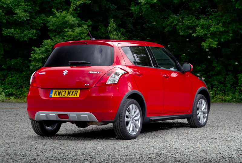 Suzuki Swift 4X4 Crossover Back View