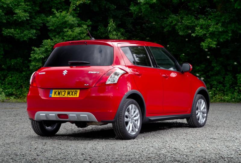 Suzuki Swift 4X4 Crossover Back View