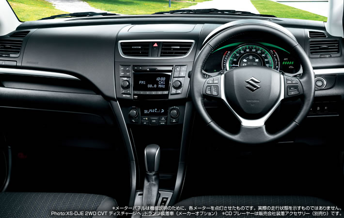 Suzuki Swift facelift Interiors
