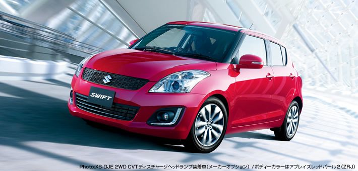 Suzuki Swift facelift