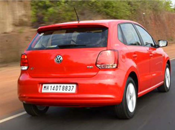 Volkswagen Polo GT TSI Back View