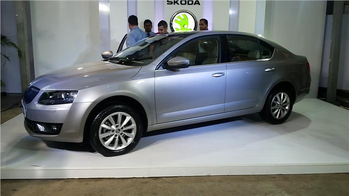 2013 Skoda Octavia unveiled in India
