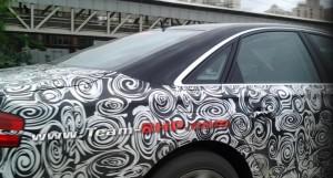 2014 Audi A8 facelift with Matrix LED lights